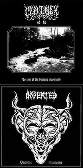 Centinex / Inverted - Sorrow of the Burning Wasteland / Diabolical Ceremonies