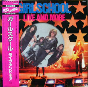 Girlschool - Live and More