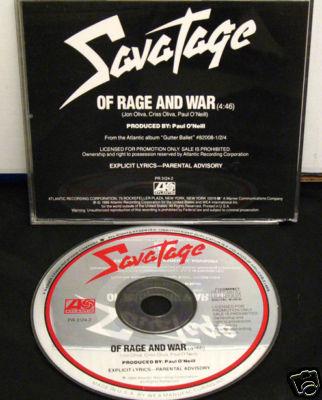 Savatage - Of Rage and War