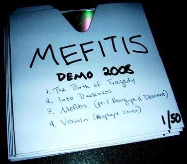 Mefitis - Demo 2008