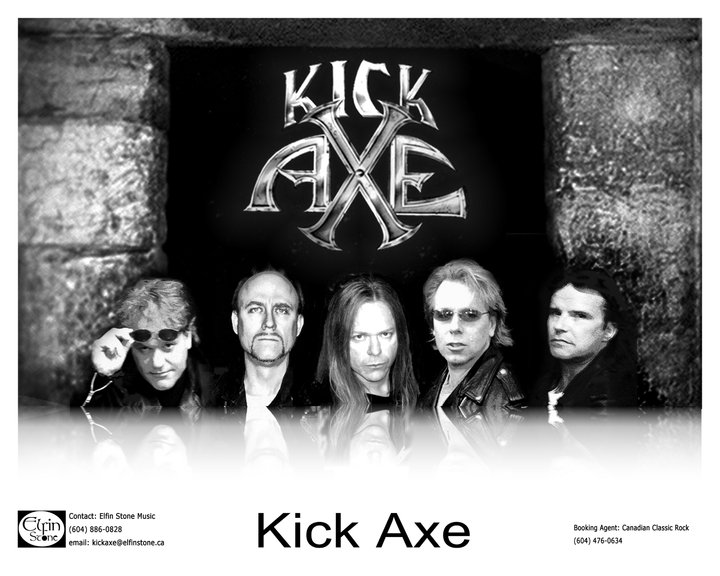 Kick Axe - Photo