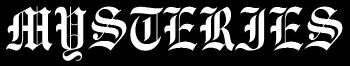 Mysteries - Logo
