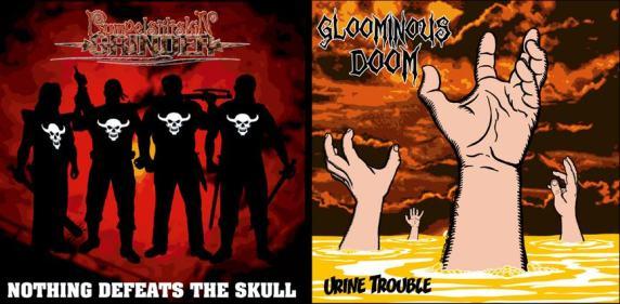 Rumpelstiltskin Grinder / Gloominous Doom - Urine Trouble / Nothing Defeats the Skull