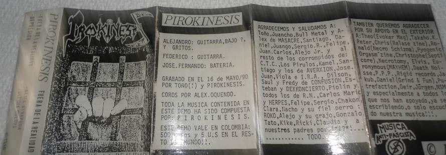 Pirokinesis - Fuera de la realidad