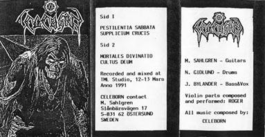 Celeborn - Pestilentia Sabbata