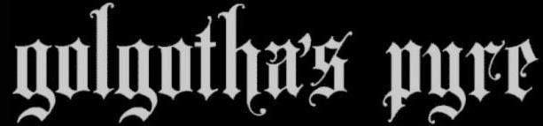 Golgotha's Pyre - Logo