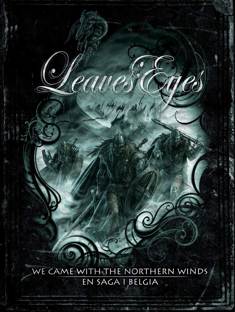 Leaves' Eyes - We Came with the Northern Winds / En saga i Belgia