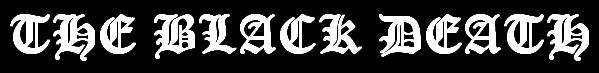 The Black Death - Logo