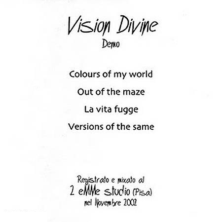 Vision Divine - Colours of My World
