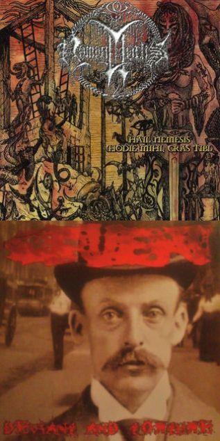 Nomenmortis / Cruent - Hail Nemesis / Deviant and Torture