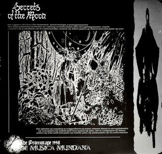 Secrets of the Moon - De Musica Mundana