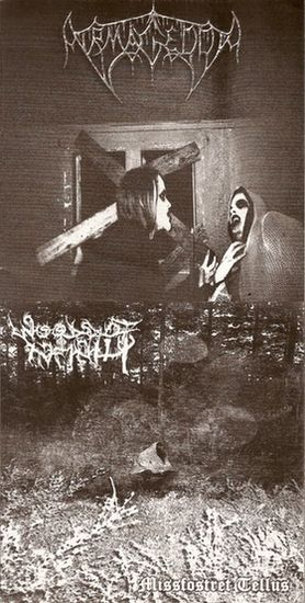 Armagedda / Woods of Infinity - At the Edge of Negative Existence / Missfostret tellus