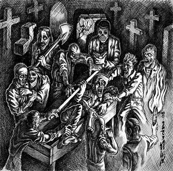 Deathevokation / Graveyard - Graveyard / Deathevokation