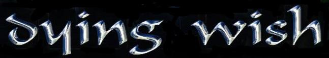 Dying Wish - Logo
