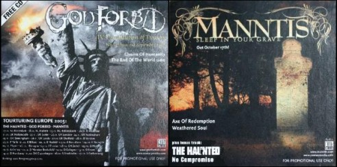 The Haunted / God Forbid / Manntis - God Forbid / Manntis / The Haunted
