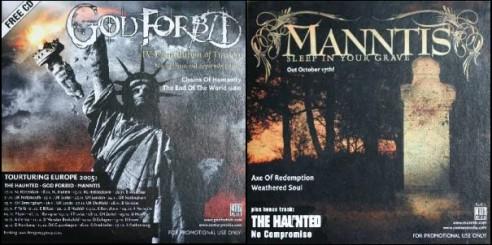 The Haunted / God Forbid / Manntis - God Forbid / Manntis / The Haunted