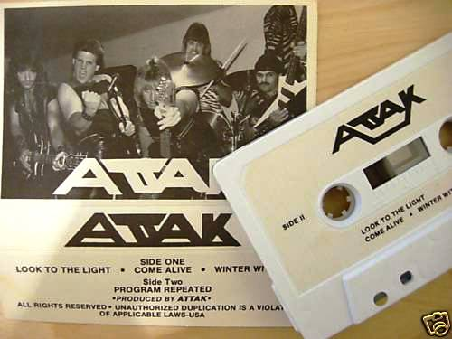 Attak - Demo 1985