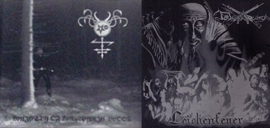 Satanic Warmaster / Totenburg - Majesty of Wampyric Blood / Leichenfeuer