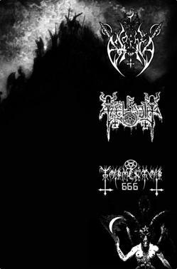 Noche Eterna / Tzelmoth / Tormentor 666 - Culto a las eternas deidades del abismo