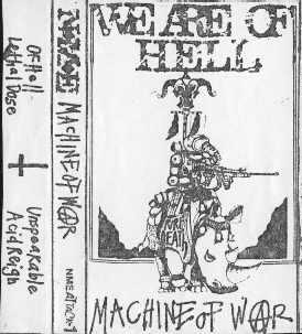 NME - Machine of War