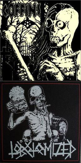 Coffins / Lobotomized - Eat Your Shit / Lobotomized