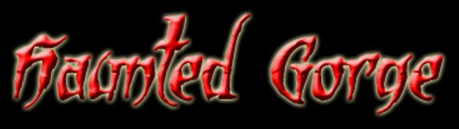 Haunted Gorge - Logo