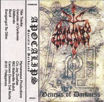 Apocalypse - Genesis of Darkness