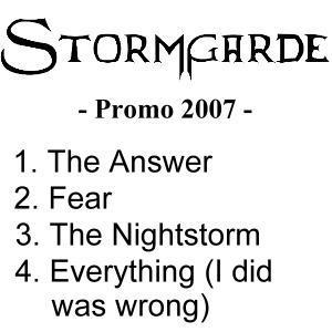 Stormgarde - Promo 2007
