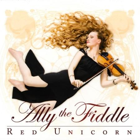 Ally the Fiddle - Red Unicorn