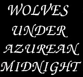 Wolves Under Azurean Midnight - Logo