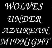 Wolves Under Azurean Midnight - Logo
