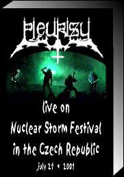 Pleurisy - Live in Nuclear Storm Festival in the Czech Republic July 21 2001