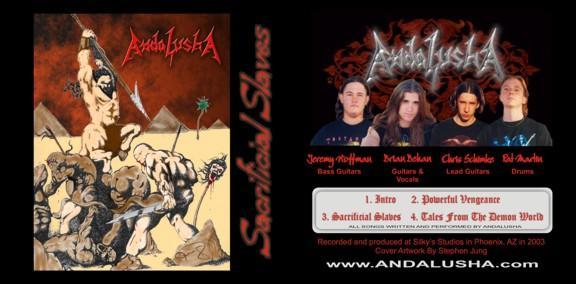 Andalusha - Sacrificial Slaves