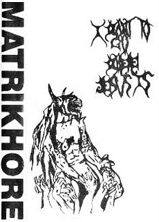 Matrikhore - I Want to Go Where Jesus Is and Fuck His Rotting Corpse