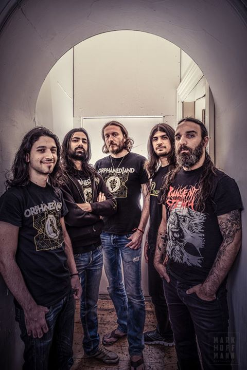 Orphaned Land members (Click to see larger picture)