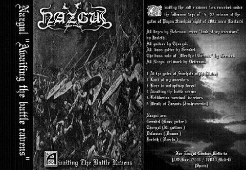 Nazgul - Awaiting the Battle Ravens