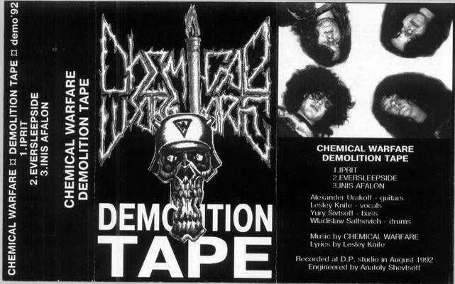 Chemical Warfare - Demolition Tape