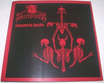 Decrepitaph / Father Befouled - Summoned for Sacrifice / Christlike Dementia