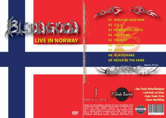 Bloodgood - Live in Norway DVD