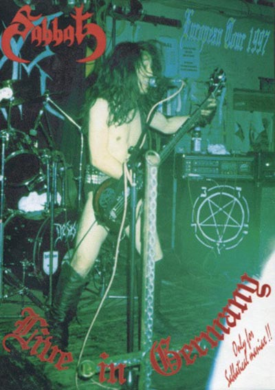Sabbat - Live in Germany