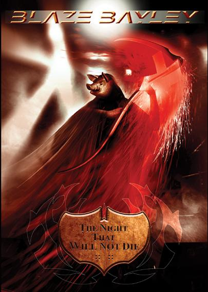 Blaze Bayley - The Night That Will Not Die