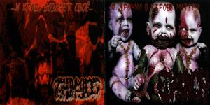 Exhumation - I Cumshot in a Womb of Mother / ...and Blood Will Prevail...