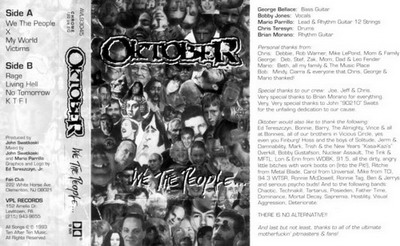 Oktober - We the People...
