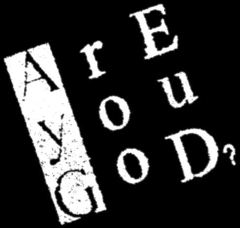 Are You God? - Logo