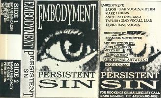 Embodyment - Persistent Sin