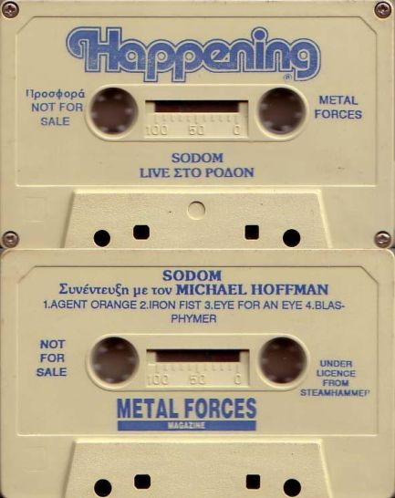 Sodom - Live στο Ρόδον