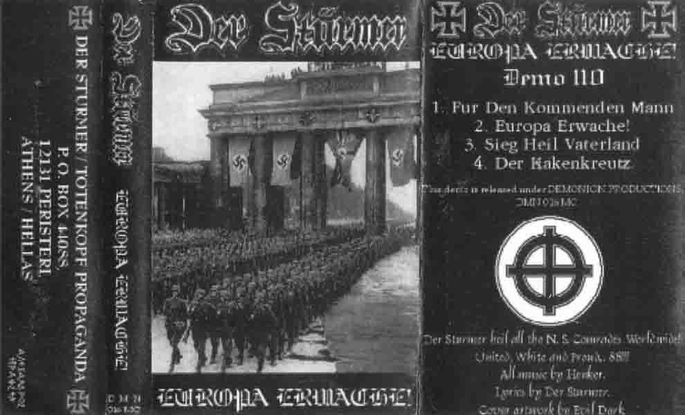 Der Stürmer - Europa Erwache!