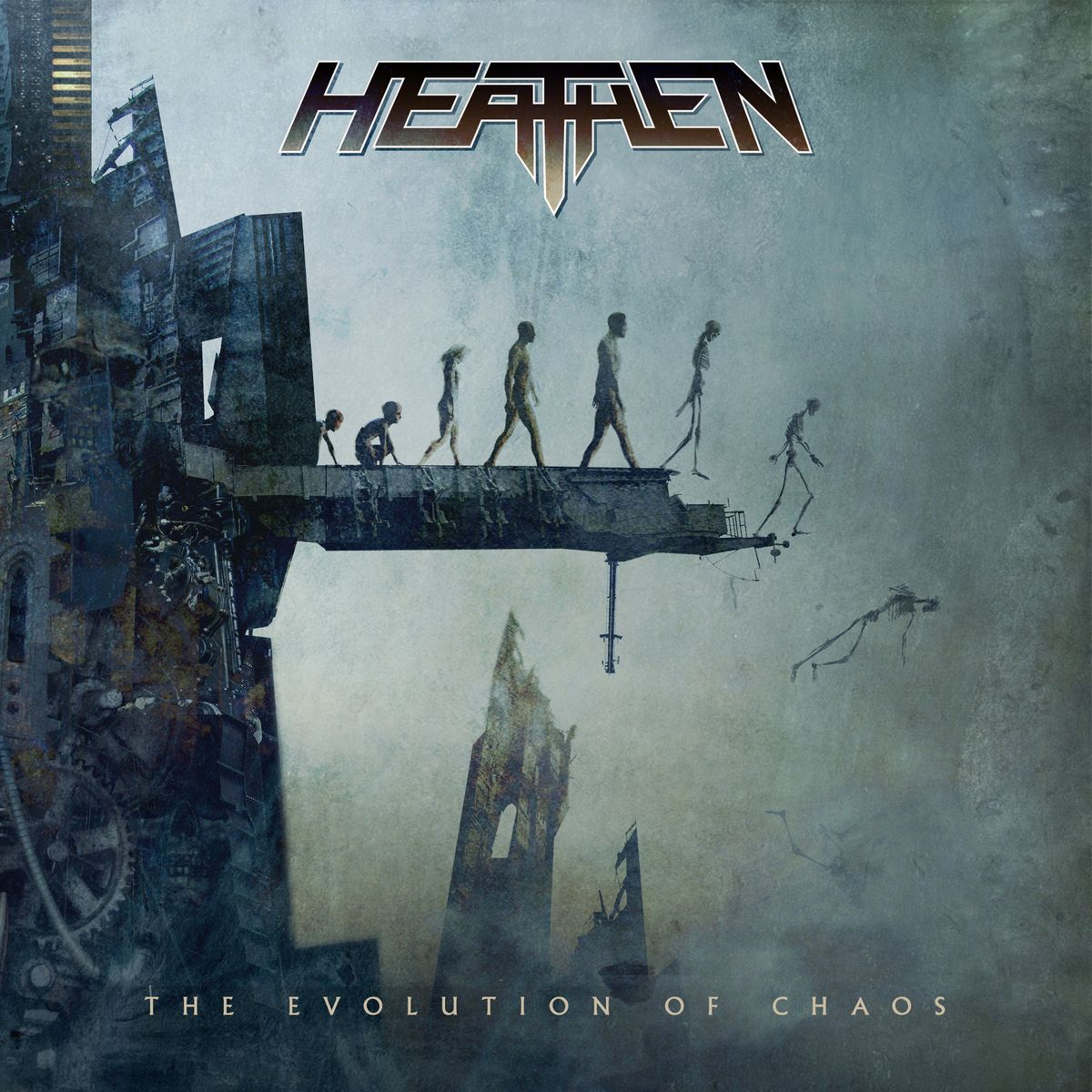 Cover of Heathen - The Evolution Of Chaos