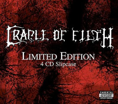 Cradle of Filth - Limited Edition 4 CD Slipcase