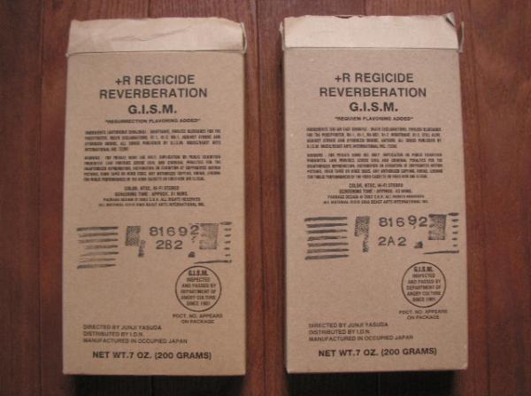 G.I.S.M. - +R Regicide Reverberation